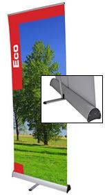 """Details zu Rollup-Banner """"Eco"""" Ersatzbahn"""