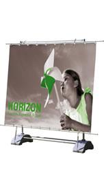 """Details zu Outdoor-Banner """"Horizon"""" inkl. Bannerdruck"""