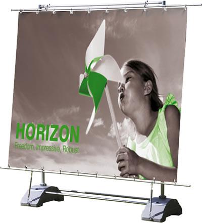 """Outdoor-Banner """"Horizon"""" inkl. Bannerdruck (Outdoor-Banner)"""