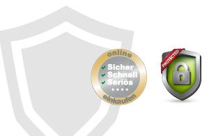 Sicherheit wird in unserem OnlineShop gross geschrieben