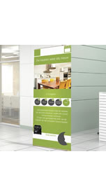 "Details zu Holzbanner ""Eco Stand"""