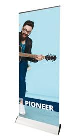 "Details zu Rollup-Display ""Pioneer"" inkl. Bannerdruck"
