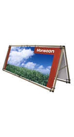 "Details zu Outdoor-Banner ""Monsoon"" inkl. Bannerdruck"