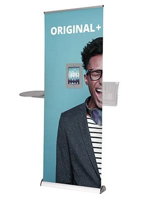 "Rollup-Display ""Original2"" inkl. Bannerdruck"