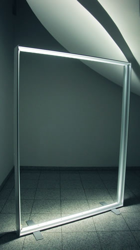 "Leuchtsystem-ohne-Textil (Messewand ""ISOframe Lightbox"")"