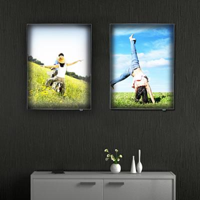 """Leuchtkasten """"Lumo Frame"""" inkl. Bedruckung"""