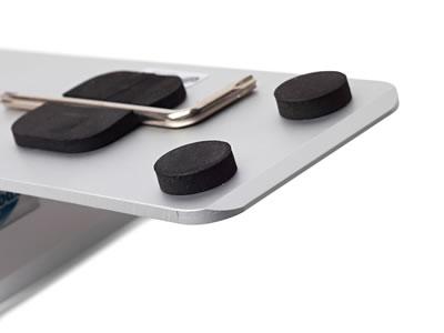 """Magnet-Frame: Befestigung flexibler PVC-Bahnen mit Magnet (Leichter Info- oder Plexiglasständer """"Magnet Frame"""")"""