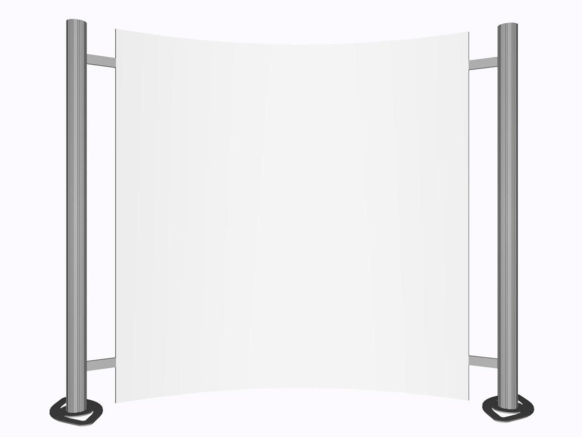 ARCOMM-Displayfachmarkt Messewandsysteme Messewandsystem \
