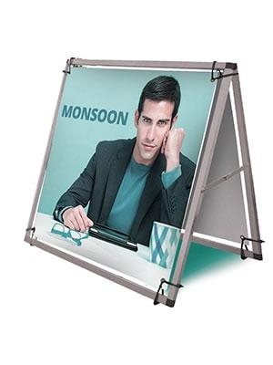 """Outdoor-Banner """"Monsoon"""" inkl. Bannerdruck (Outdoor-Banner)"""