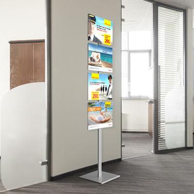 """Hinweisständer """"Smart Floor"""""""