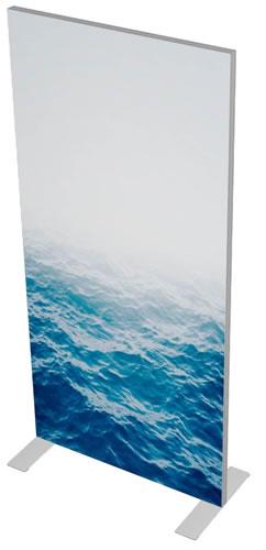 """Messewand Vector Lite 1m Ansicht von links oben (Messewand """"Vector Lite"""")"""