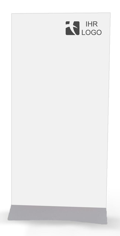 """Schwerer Plexiglas- oder PVC-Halter """"Wedge"""""""