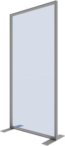 """Stabile Trennwand """"Vector"""" mit Plexiglas oder PVC (Coronaschutzwaende)"""