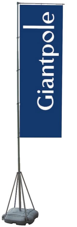 Giantpole 5,4m (mobile Fahnenmasten)