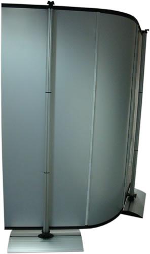 "Messewand Stealth Rückseite (flexible Messewand ""Stealth"")"