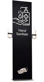 """Details zu Zweiseitiger Desinfektionsständer """"Magnet Frame"""""""